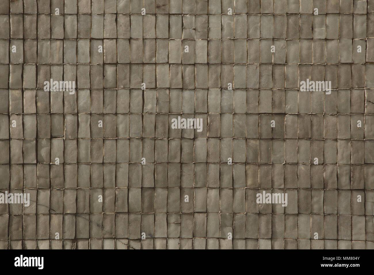 Facciata in ceramica piastrelle. texture di sfondo foto & immagine