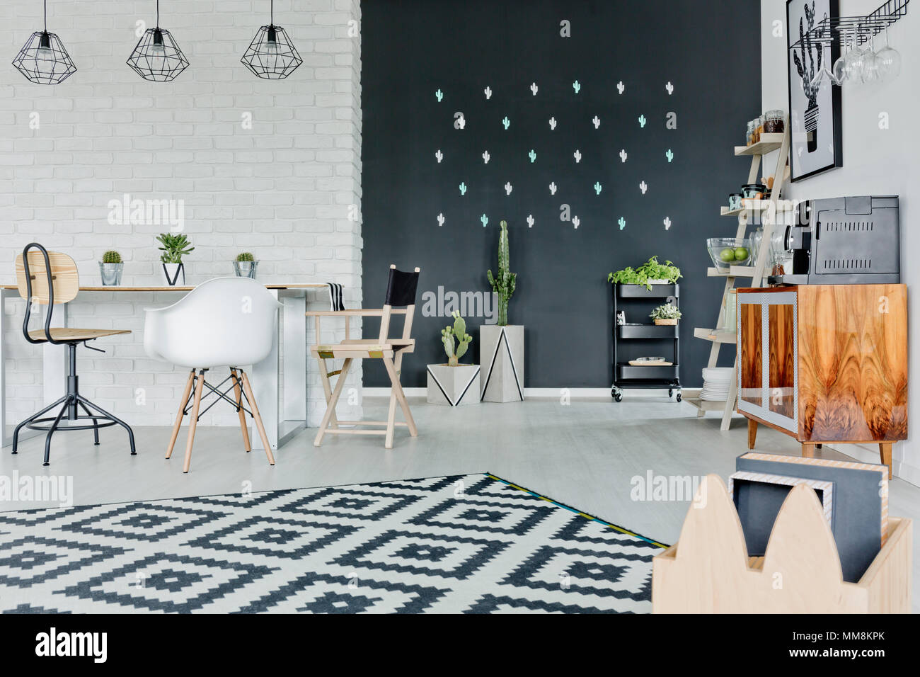 Pareti Di Lavagna : Una casa creativa per tutta la famiglia con una parete lavagna dilei
