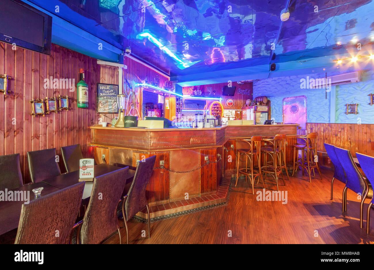 Sgabello da bar in colore marrone valencia beliani