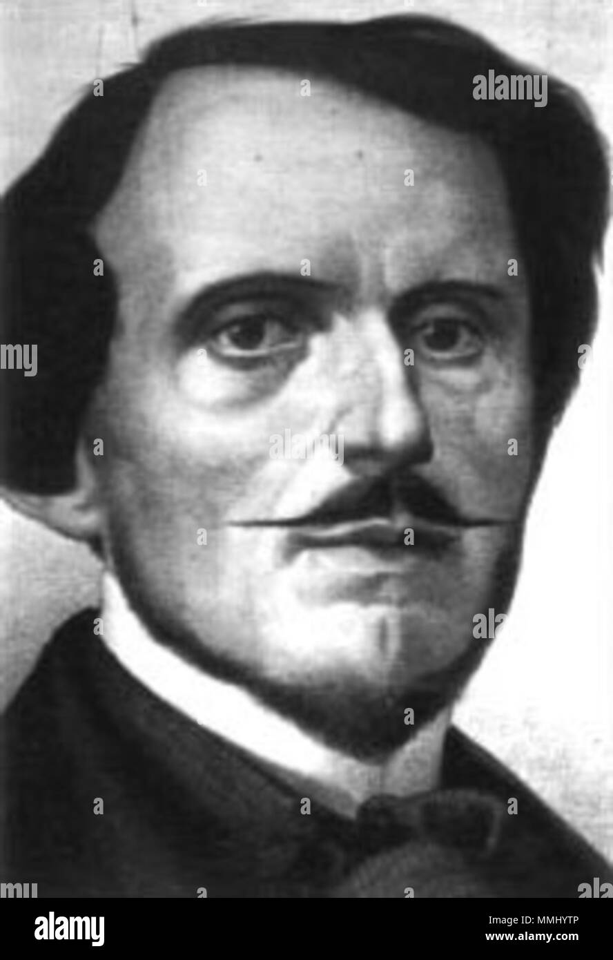 . Italiano: Immagine dello statista è:Bettino Ricasoli (1809-1880). . 8 maggio 2004 (originale data di caricamento). Uploader originale era due volte25 a it.wikipedia 83 Bettino Ricasoli Immagini Stock