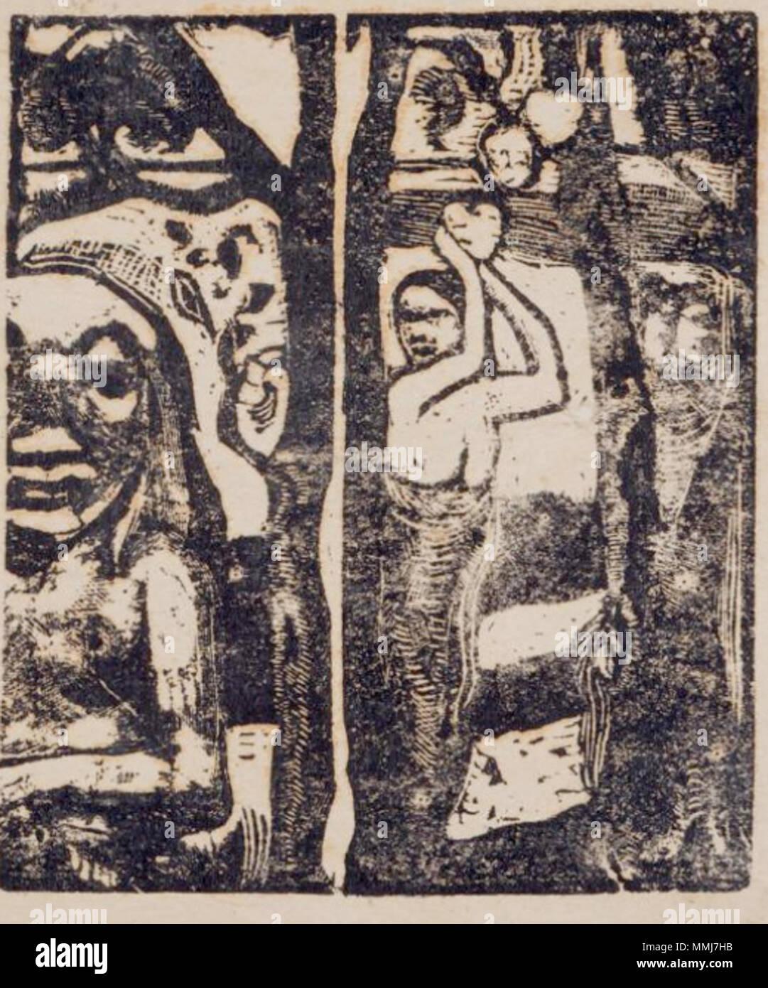 . Français : Femme cueillant des fruits et Oviri (donna raccolta di frutti con Oviri) . Luglio 1896. Paul Gauguin (1848-1903) nomi alternativi Henri Eugène Paul Gauguin Descrizione pittore francese e scrittore Data di nascita e morte 7 Giugno 1848 8 maggio 1903 Luogo di nascita e morte Parigi Atuona periodo di lavoro dal 1876 fino al 1903 sede di lavoro Parigi, Pont-Aven, Arles, Tahiti competente controllo : Q37693 VIAF:?ISNI 27064953:?0000 0001 2100 026 - X ULAN:?500011421 LCCN:?n79055546 NLA:?35115434 WorldCat Femme ceuillant des fruits et Oviri Immagini Stock