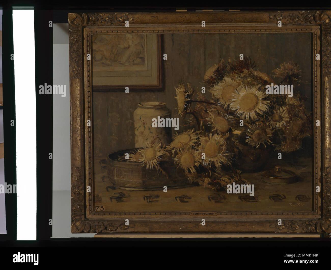 Chardons - Tony Pichon - Musée d'art et d'histoire de Saint-Brieuc, DOC 175 Foto Stock