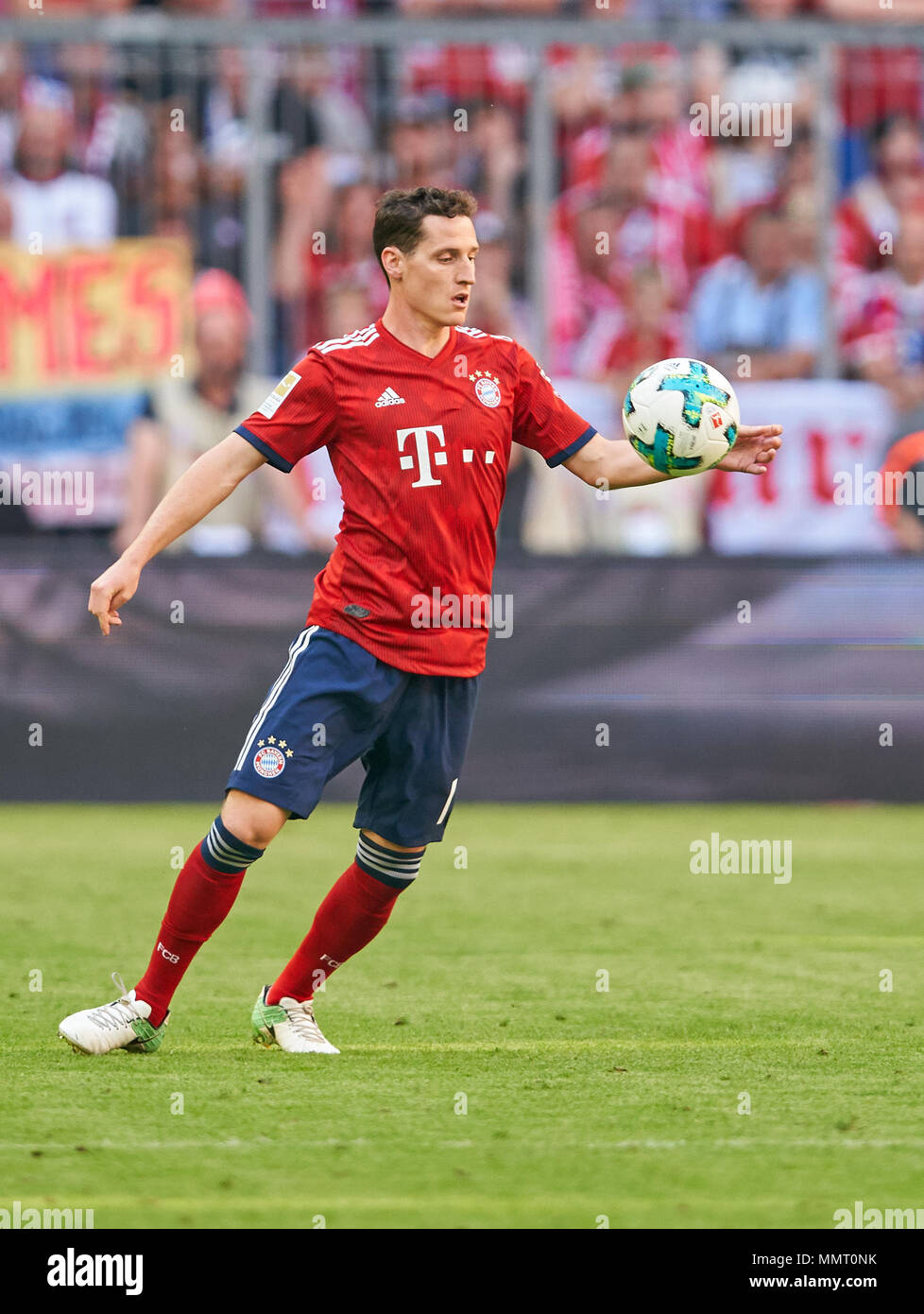 Monaco di Baviera, Germania. Il 12 maggio 2018. FC Bayern Munich ...