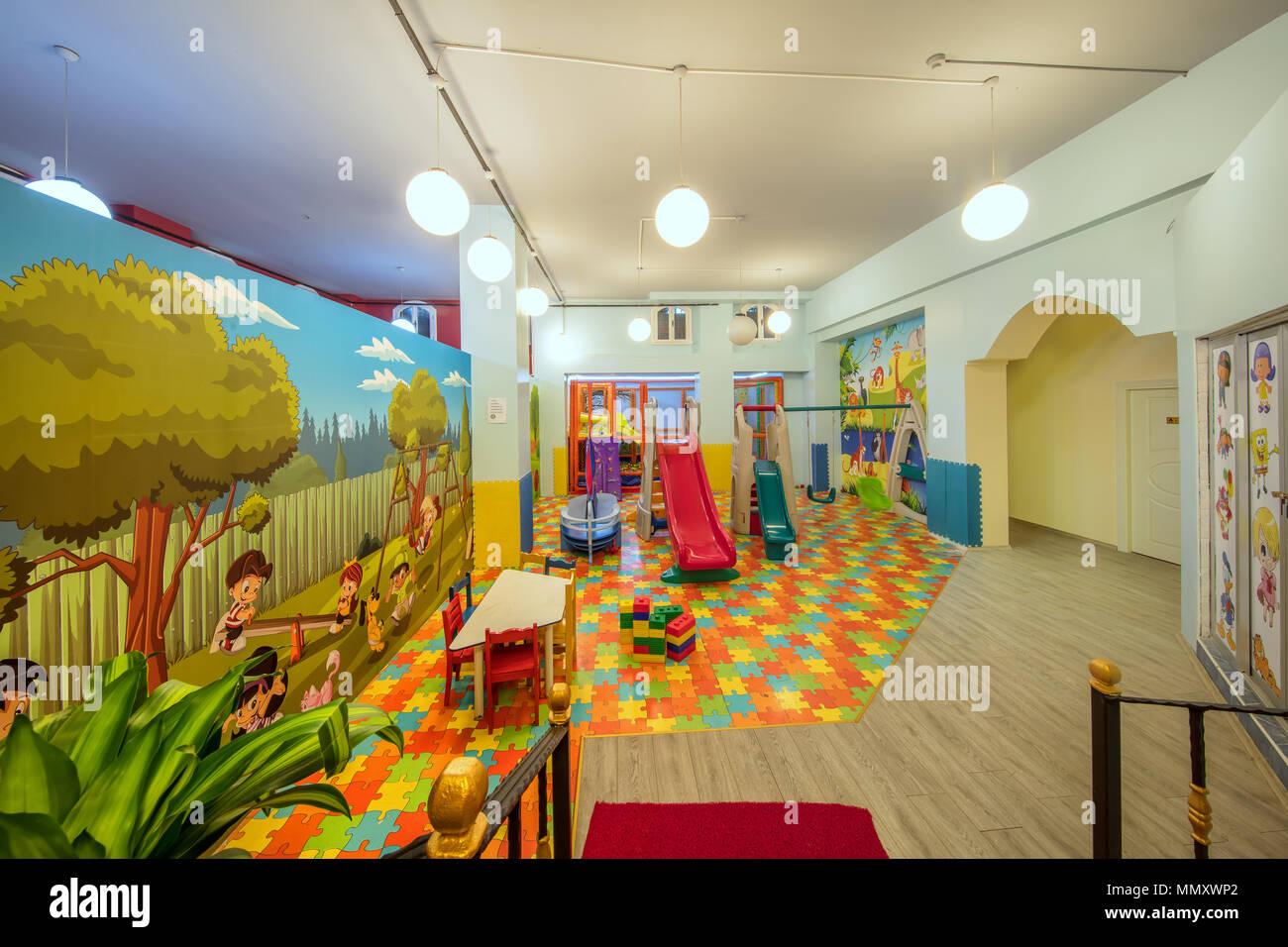Sala Giochi Per Bambini : Istanbul turchia aprile parco giochi per bambini nel