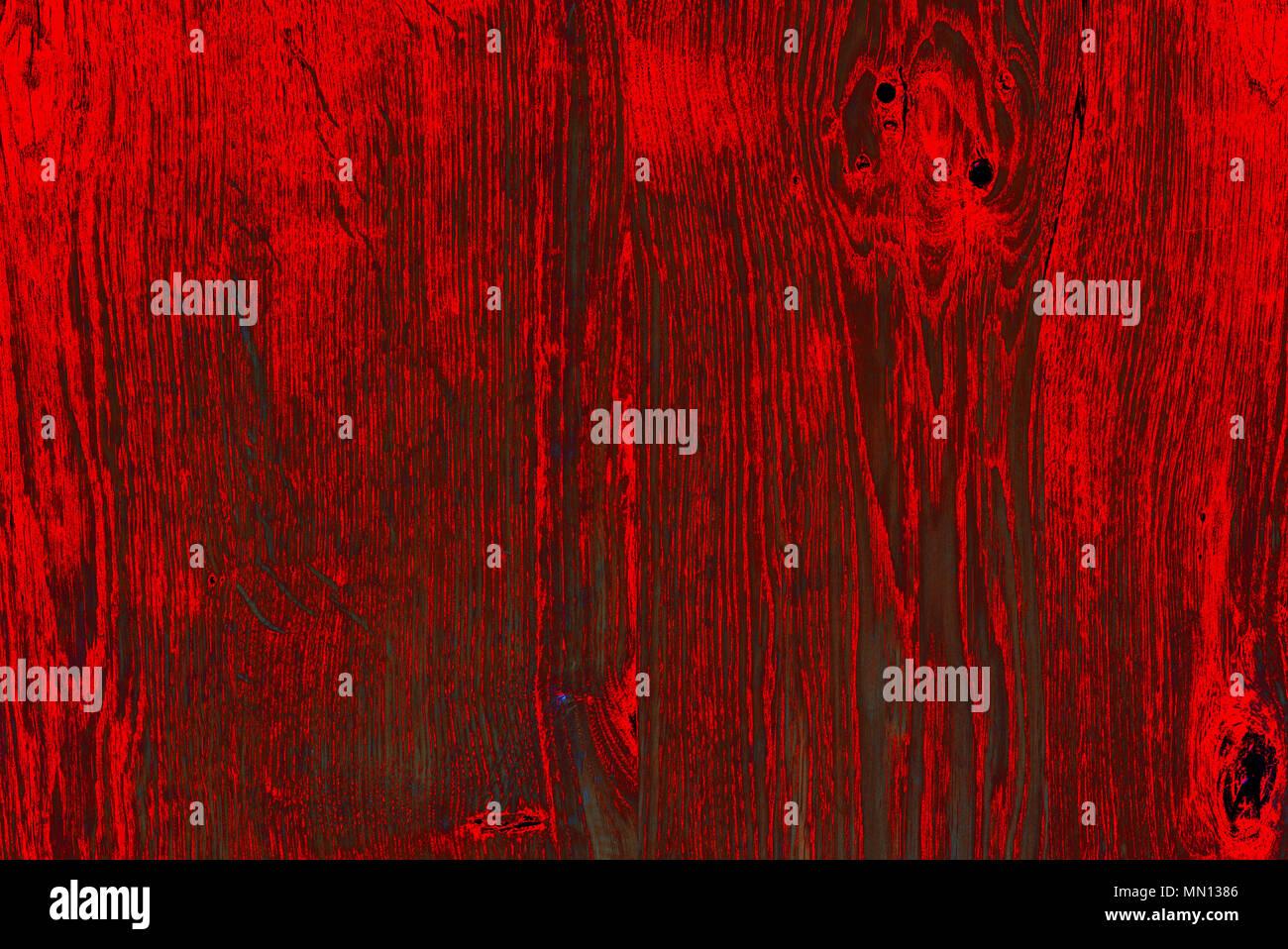 Primo Piano Di Un Rosso Nero Rovere Colorato Sfondo Della Scheda