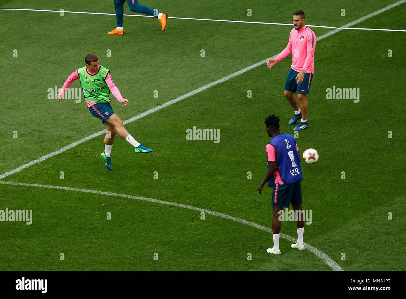 Allenamento calcio Atlético de Madrid prima