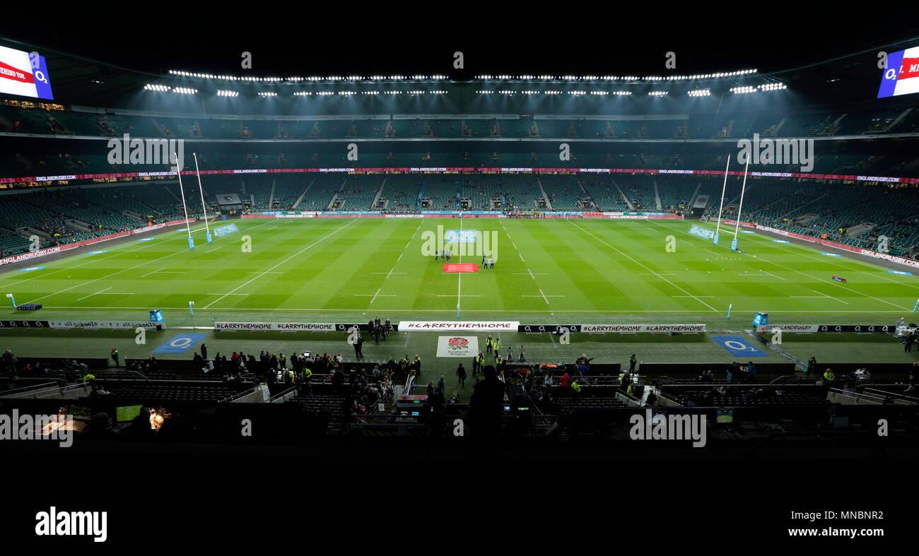 Stadio di twickenham si mette in mostra il suo nuovo sistema di