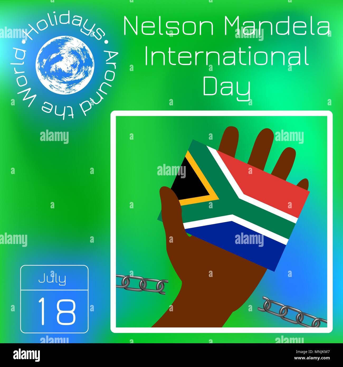 Calendario Internazionale.Nelson Mandela Giornata Internazionale 18 Luglio Il