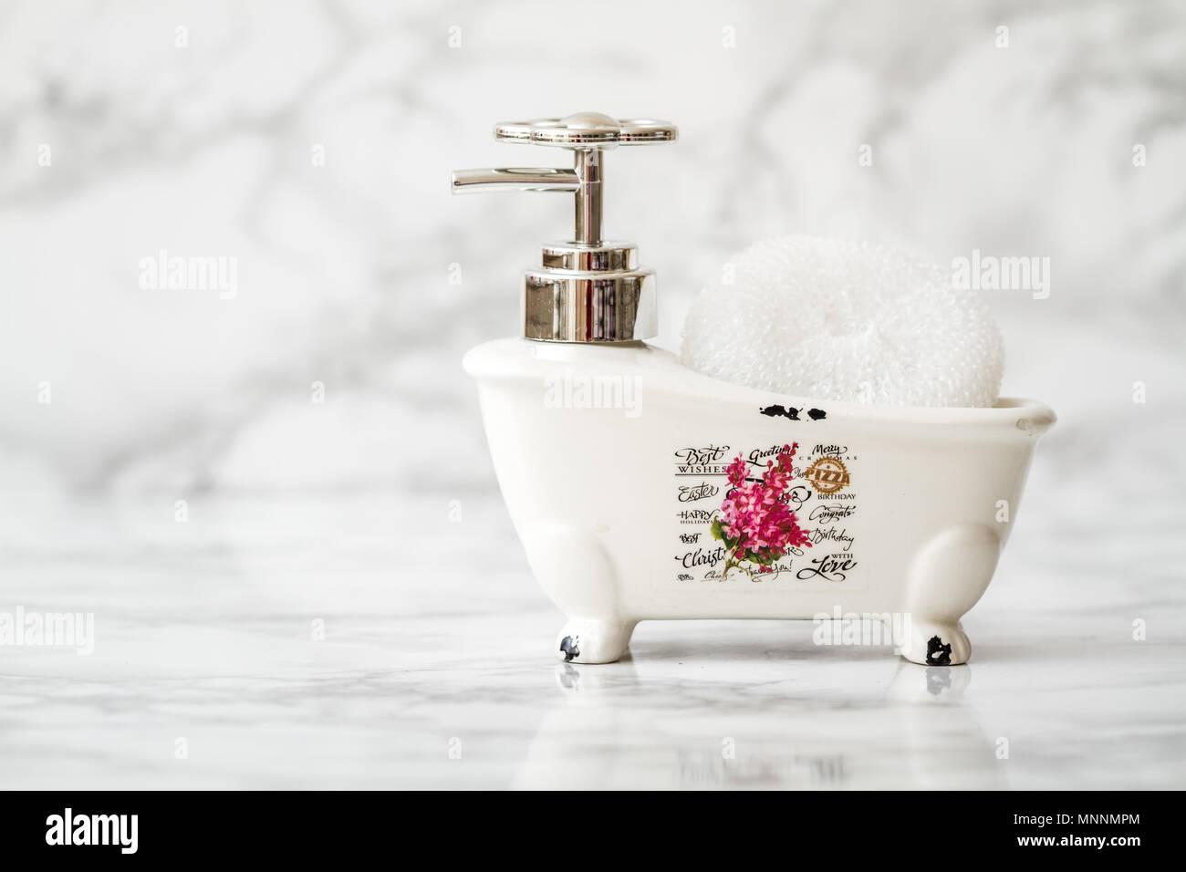 Portasapone Bagno In Ceramica.Ceramica Decorativa Mini Claw Piedi Vasca Da Bagno