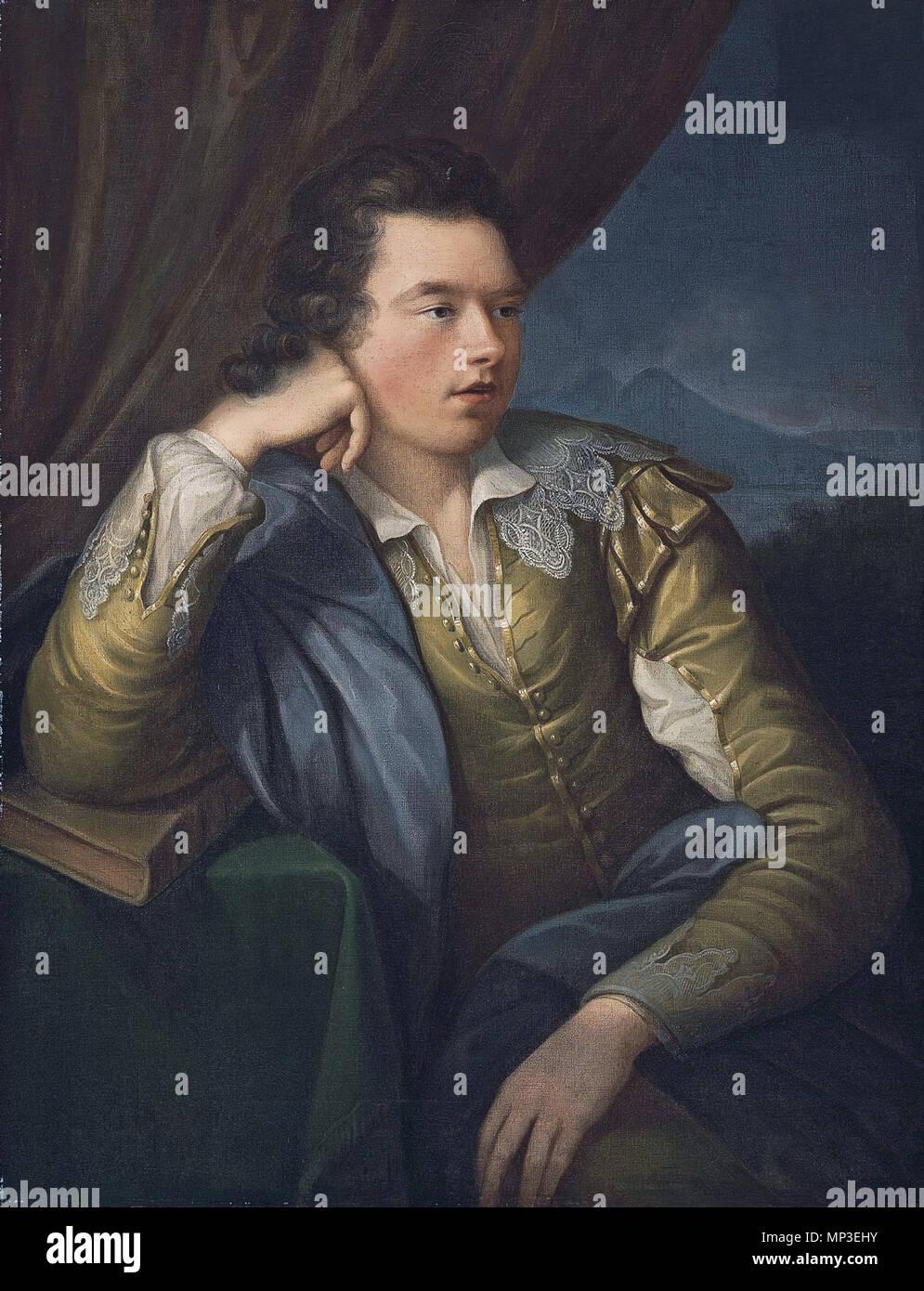 John Campbell, 4 Earl e primo marchese di Breadalbane (1762-1834) . Inglese: John Campbell, 4 Earl e primo marchese di Breadalbane (1762-1834) olio su tela 91.15 x 71.1 cm. . Secoli XVIII e XIX secolo. 731 John Campbell, 4 Earl e primo marchese di Breadalbane (1762-1834) da Angelica Kauffman (1741-1807) Immagini Stock