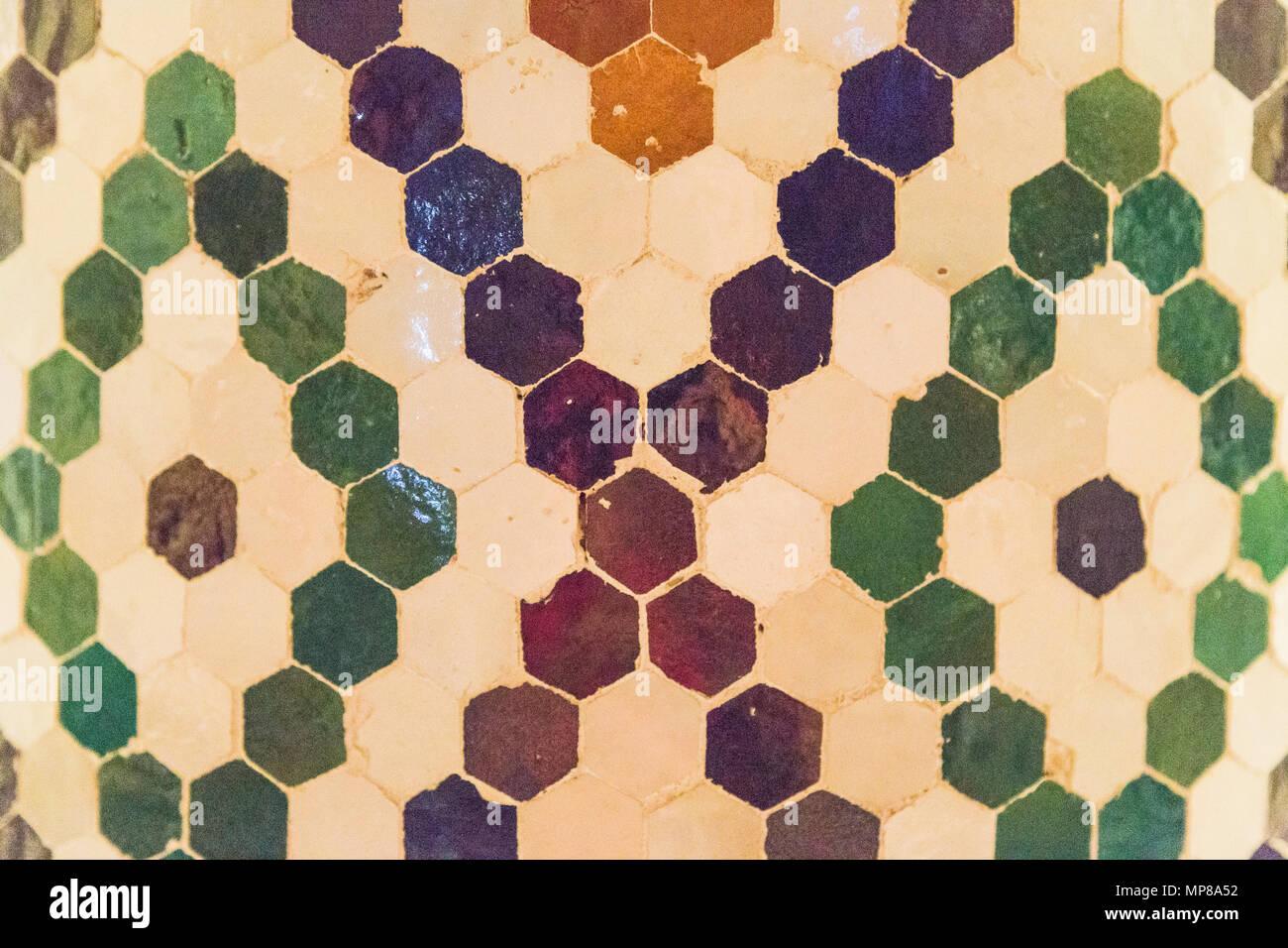 Tipiche piastrelle marocchine foto & immagine stock: 185809710 alamy