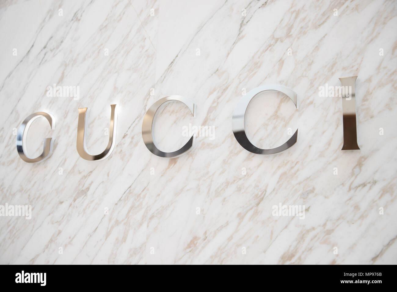 new product ea30e 76f5d Philadelphia, Pennsylvania, 19 Maggio 2018: Gucci store ...