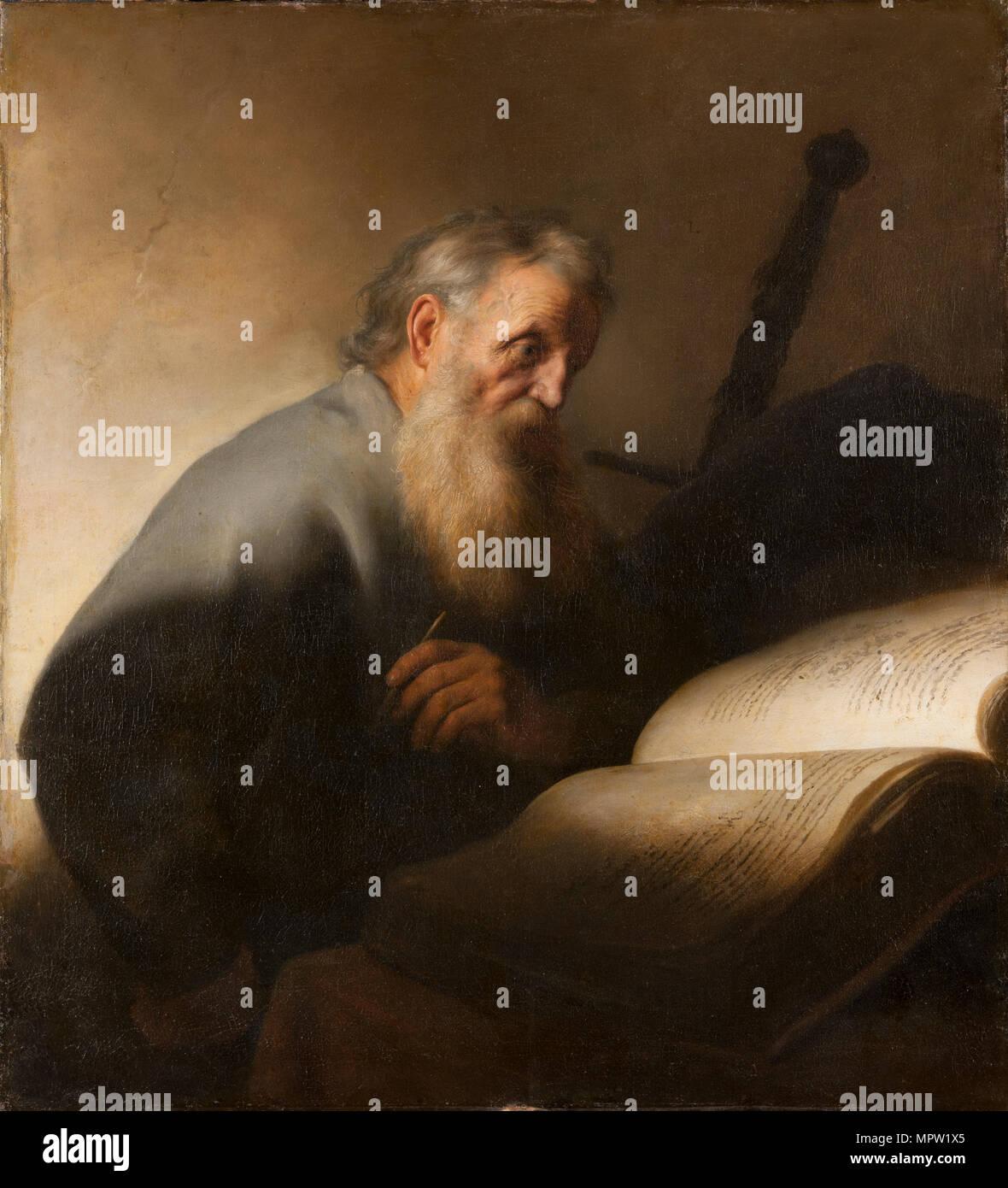 L apostolo Paolo, 1627. Immagini Stock