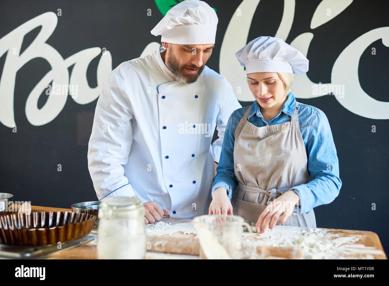 Arte culinaria Immagini Stock