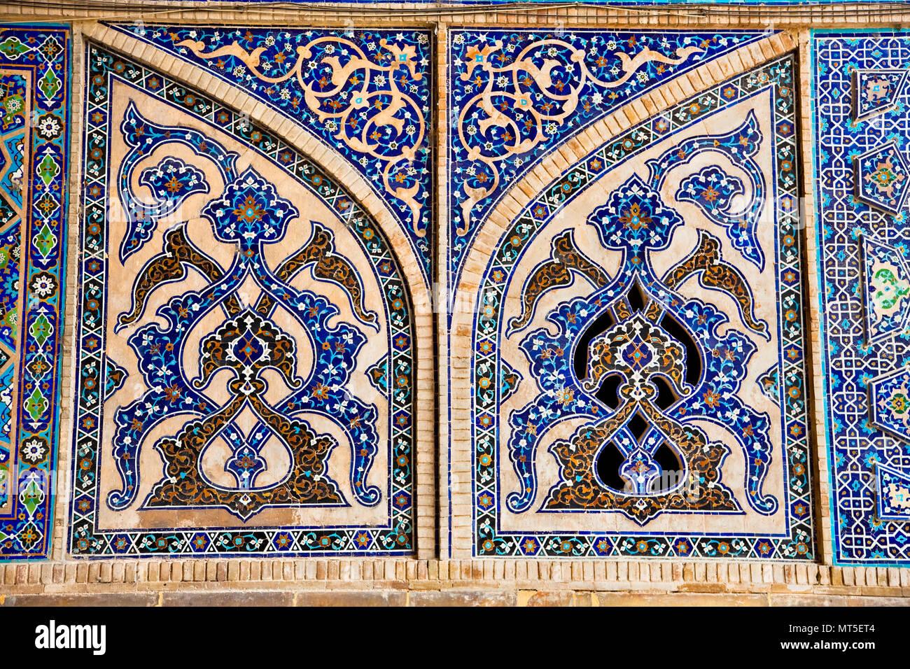 Orientale con piastrelle a mosaico di parete ateegh moschea jame