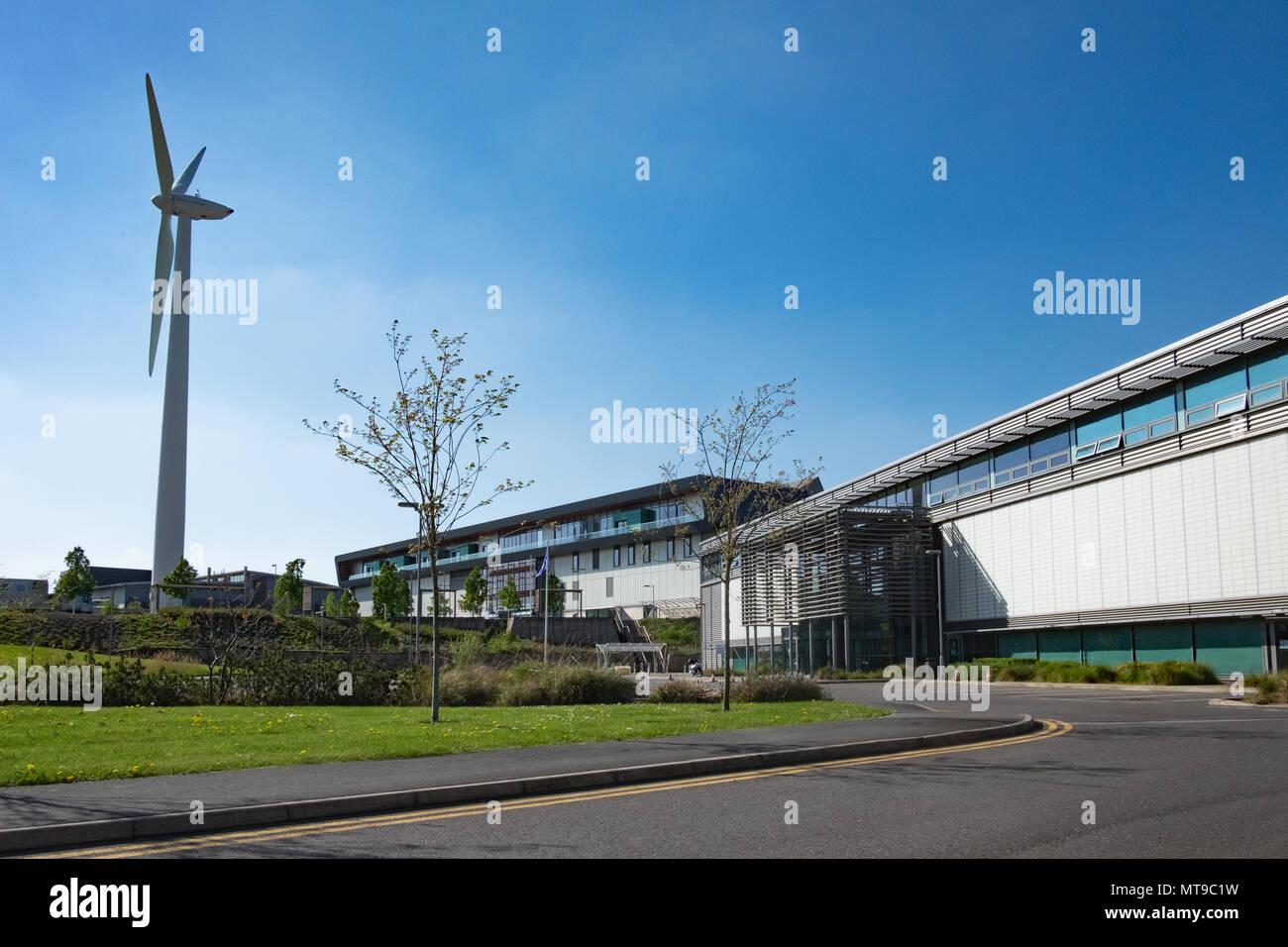 Il 4 maggio 2018, Sheffield, Regno Unito. Fabbricazione avanzata Park a Sheffield, UK, è una ricerca di alta tecnologia e produzione industriale Immagini Stock