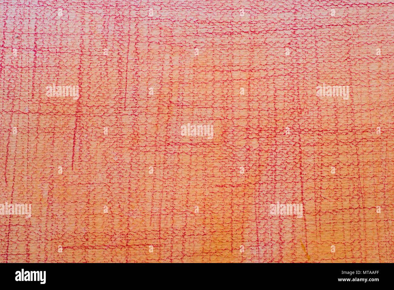 Colore arancio pastello scarabocchi su disegno dipinto wtecolor texture di  sfondo 4907b8e1490
