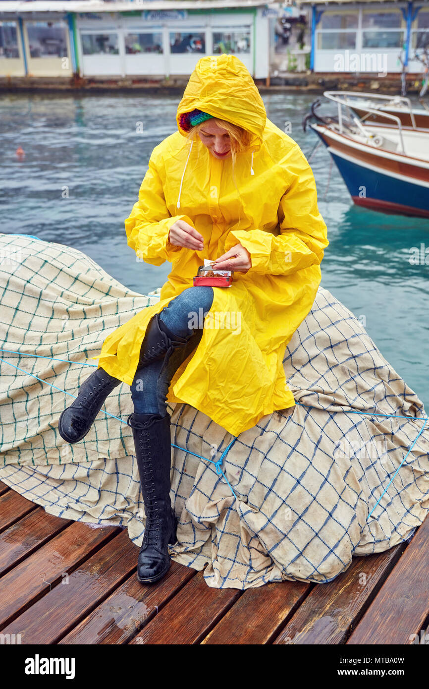 GUY COTTEN CHINOOK Smock Impermeabile per la pesca o una barca a vela Outerwear