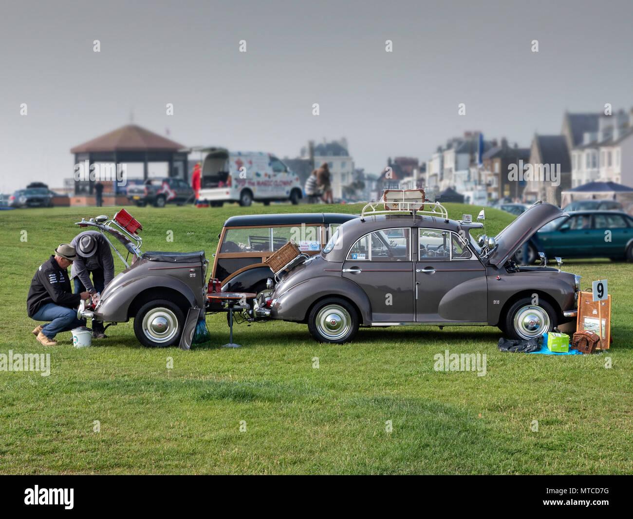 Trattare Classic Car Show 2018 Immagini Stock