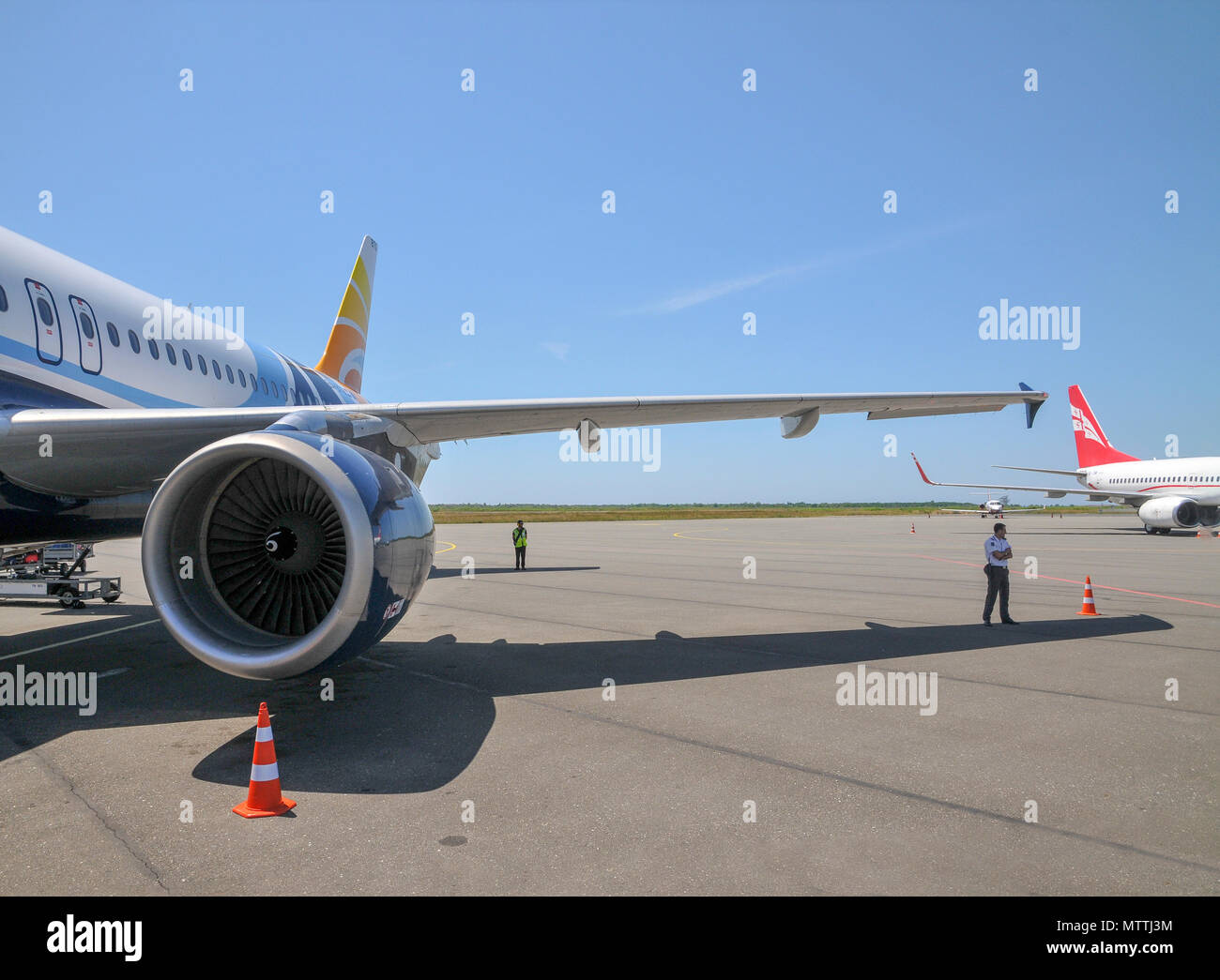Batumi international airport, Georgia Foto Stock