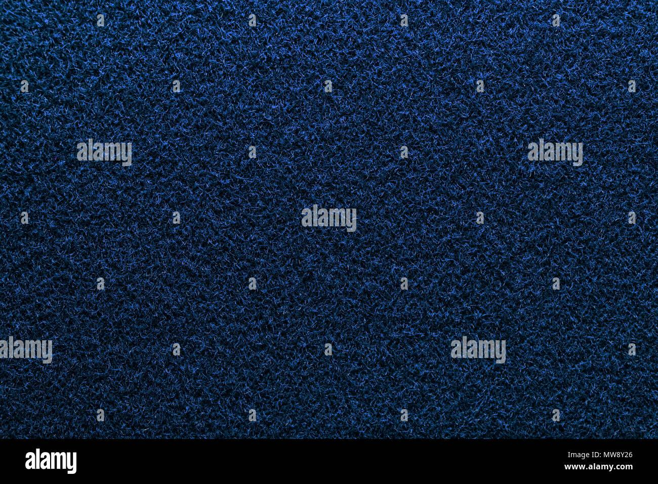 Blu Scuro Materiale Morbido Texture Blu Notte Fibre Dettagliata
