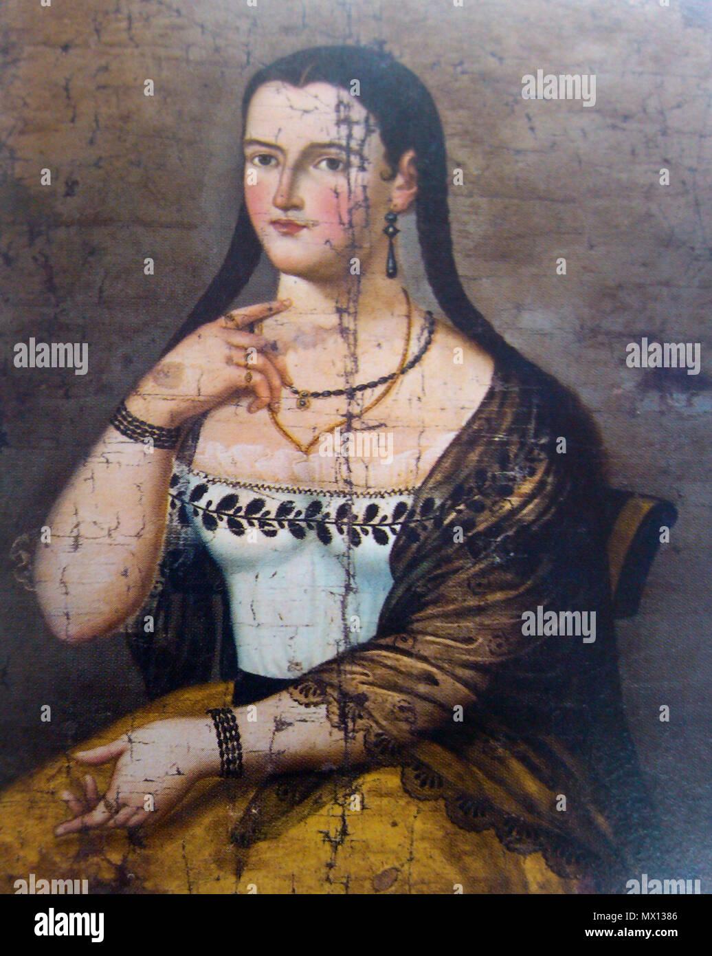 392 Manuela Cañizares (adolescente) 02 Immagini Stock