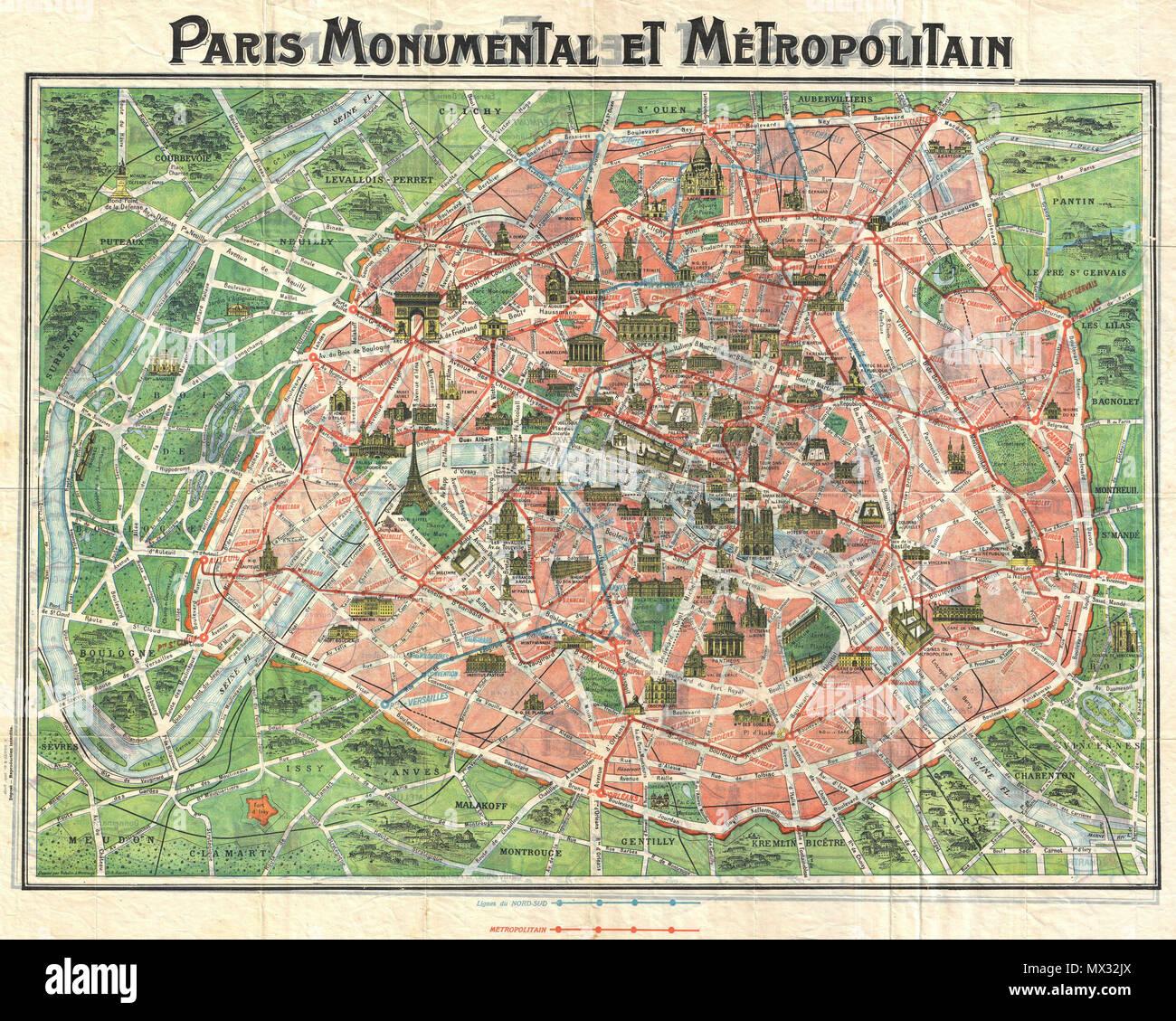 Parigi Cartina Metro.Parigi Monumentale Et Metropolitana Inglese Questo C 1920 Mappa Di Parigi Francia E Una Delle Piu Ambite Della Parigi Monumentale Serie Progettato Con Il Turista In Mente Questa Cartina Copre Il