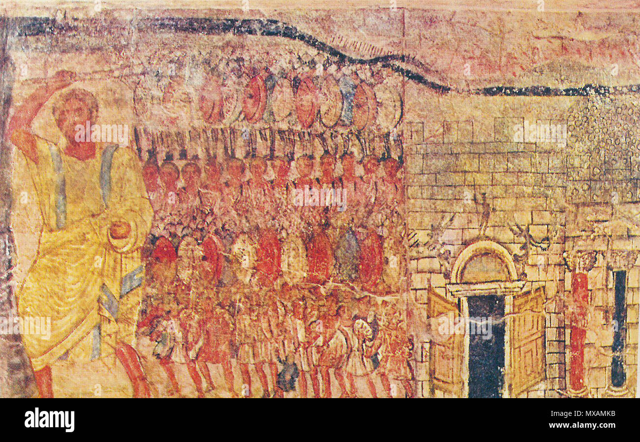 Pittura Murale Da Dura Europos Immagini E Fotos Stock Alamy