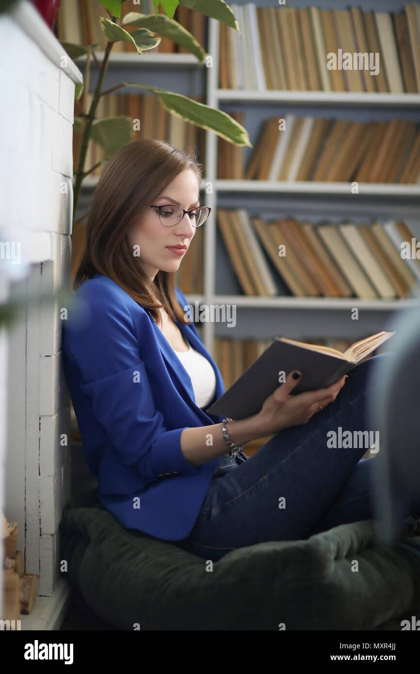 Donna in Stock casa vita di a Immagine Foto blu amp; giacca Stile REBw4WnqOt