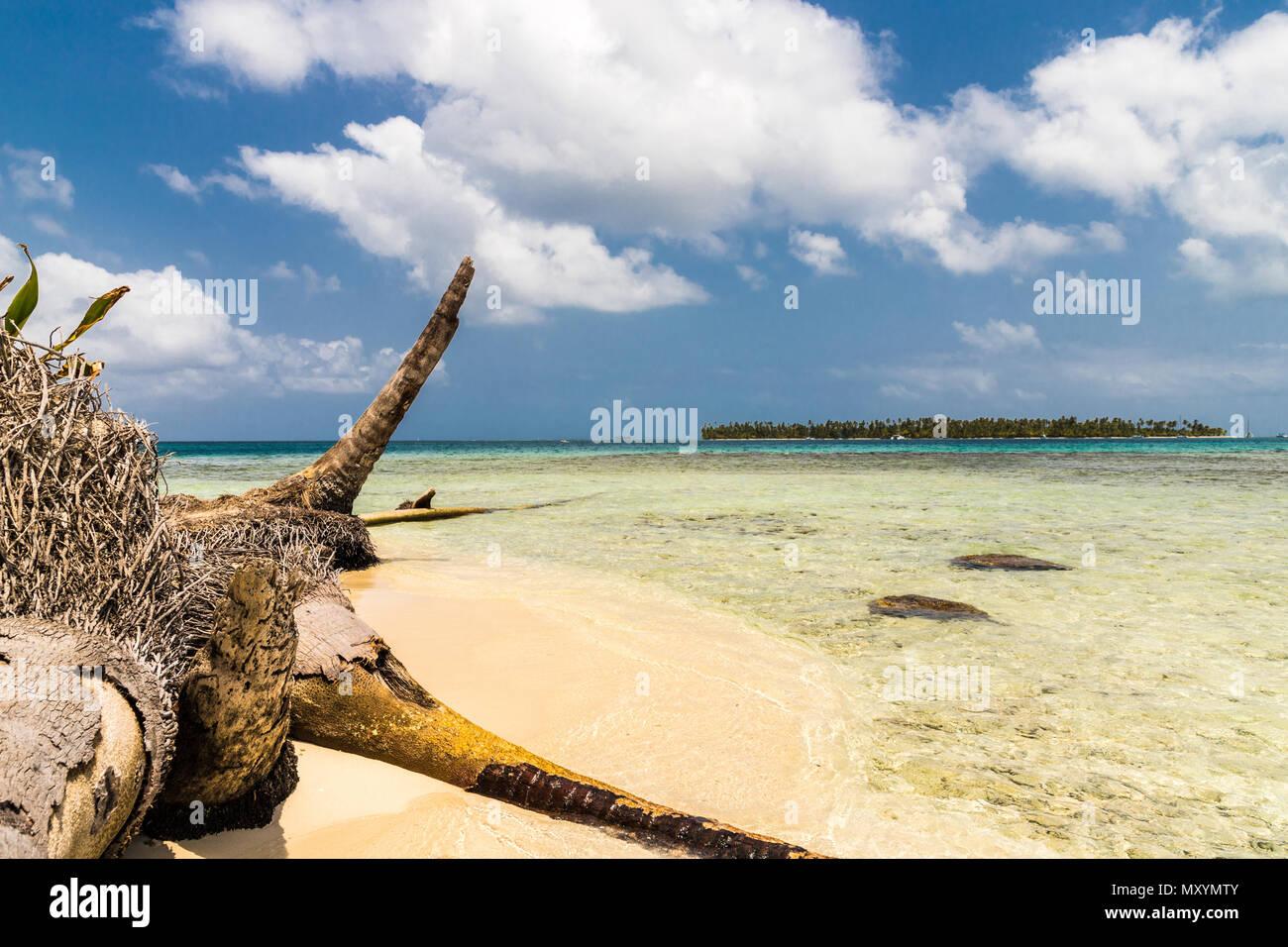 Isole San Blas a Panama Immagini Stock
