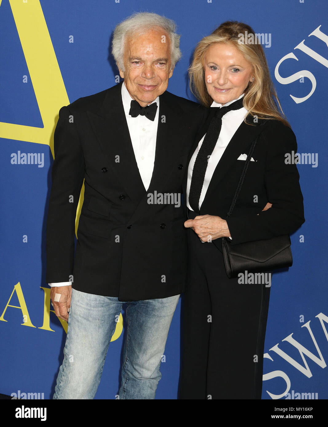 separation shoes e83b6 7d674 Ralph Lauren And Wife Ricky Immagini & Ralph Lauren And Wife ...