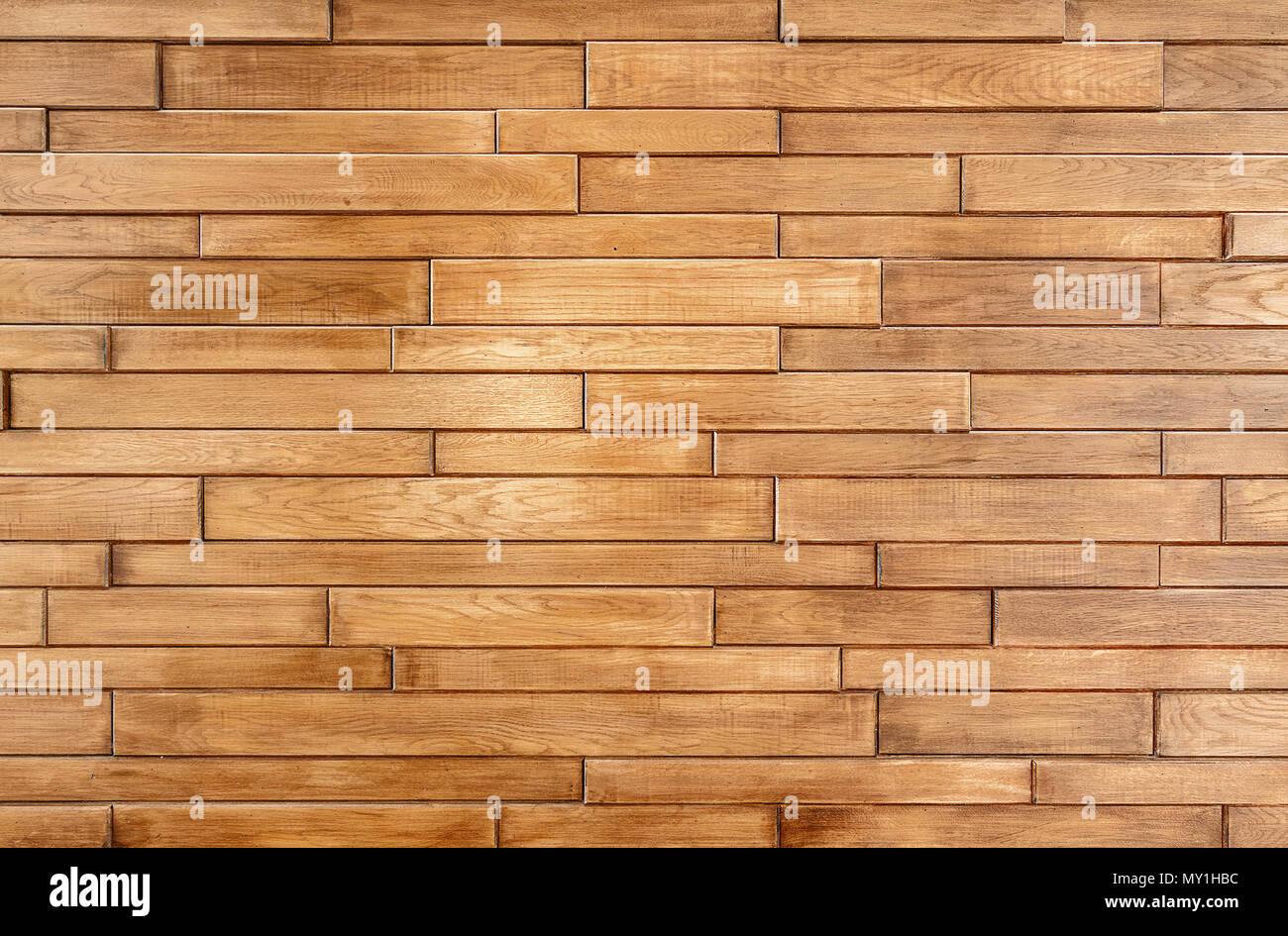 Piastrelle a muro con texture di legno di close up. vista piana foto