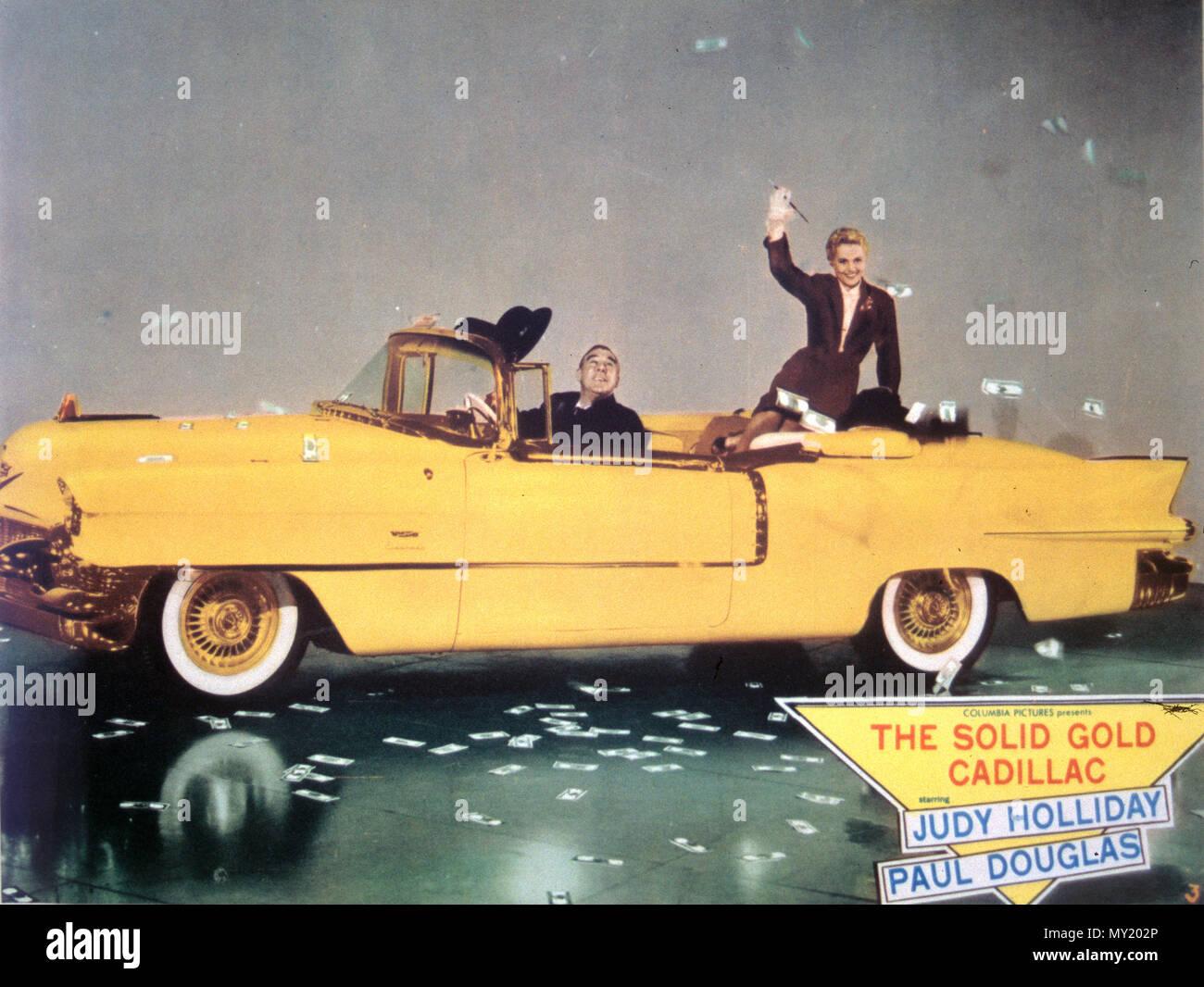 Il solido oro CADILLAC 1956 Columbia Pictures Film con Judy Holliday e Paul Douglas Immagini Stock