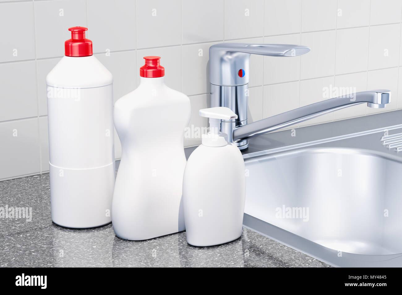 Detergenti, prodotti per la pulizia in cucina interno ...