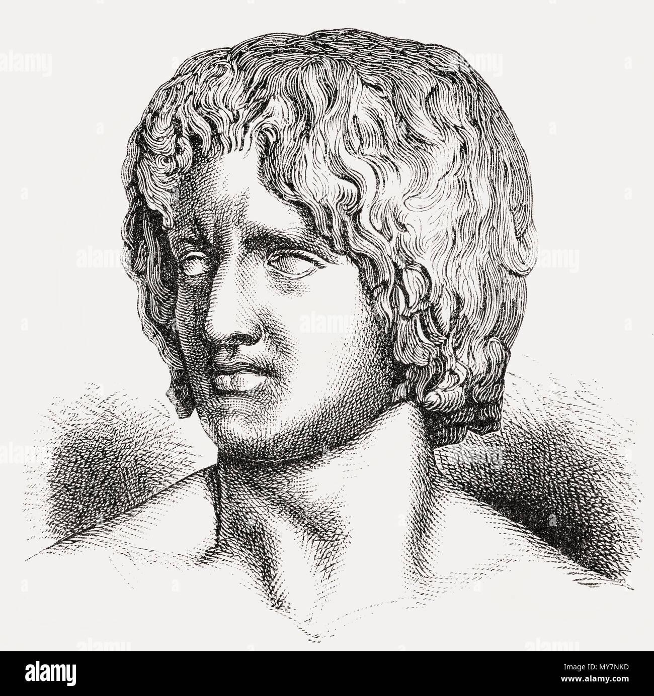 Arminius o Armenius, 17 BC - 21 AD, capotribù dei Cherusci germanica, generale vittorioso del varo battaglia in Germania, Immagini Stock
