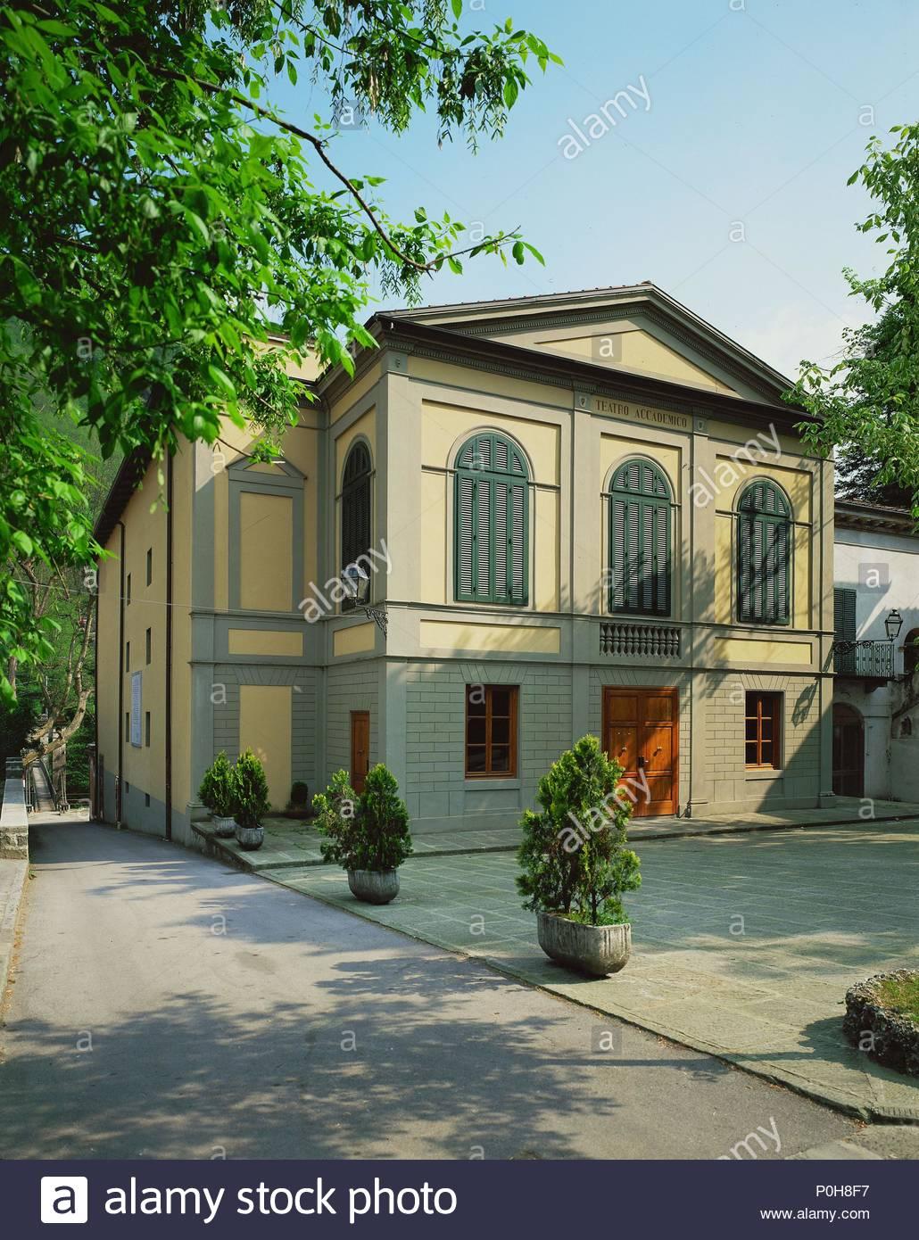 Bagni di Lucca, teatro dal tempo di Napoleone I. Paganini ha dato ...