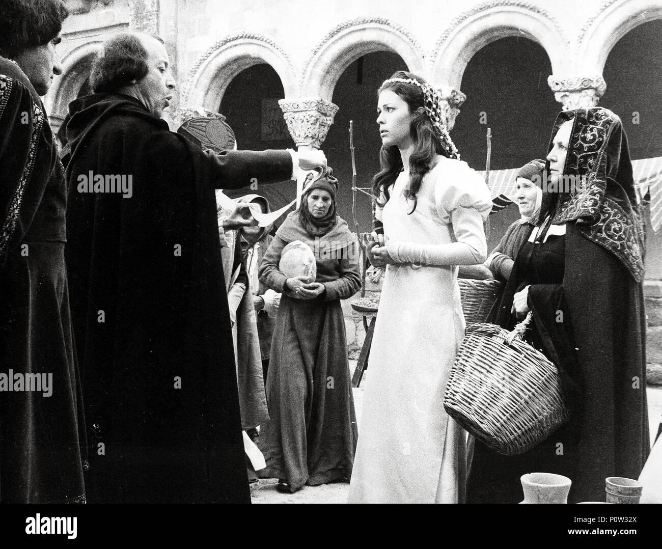 Pellicola originale titolo: EL LIBRO DEL BUEN AMOR II. Titolo inglese: Libro di Buon Amore 2, la. Regista: JAIME BAYARRI. Anno: 1976. Immagini Stock