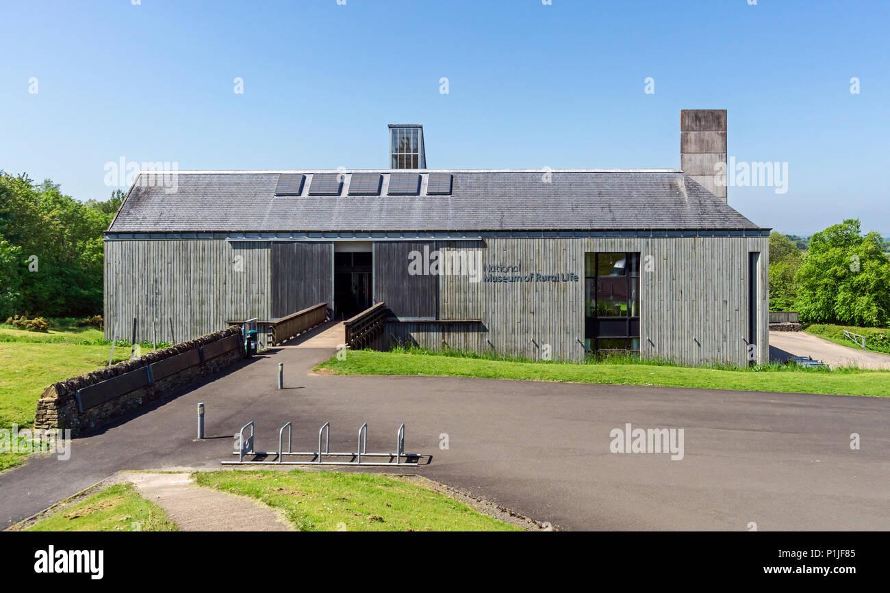 e1a54916b7 Ingresso al Museo Nazionale di Vita Rurale in East Kilbride South  Lanarkshire Regno Unito Scozia Immagini