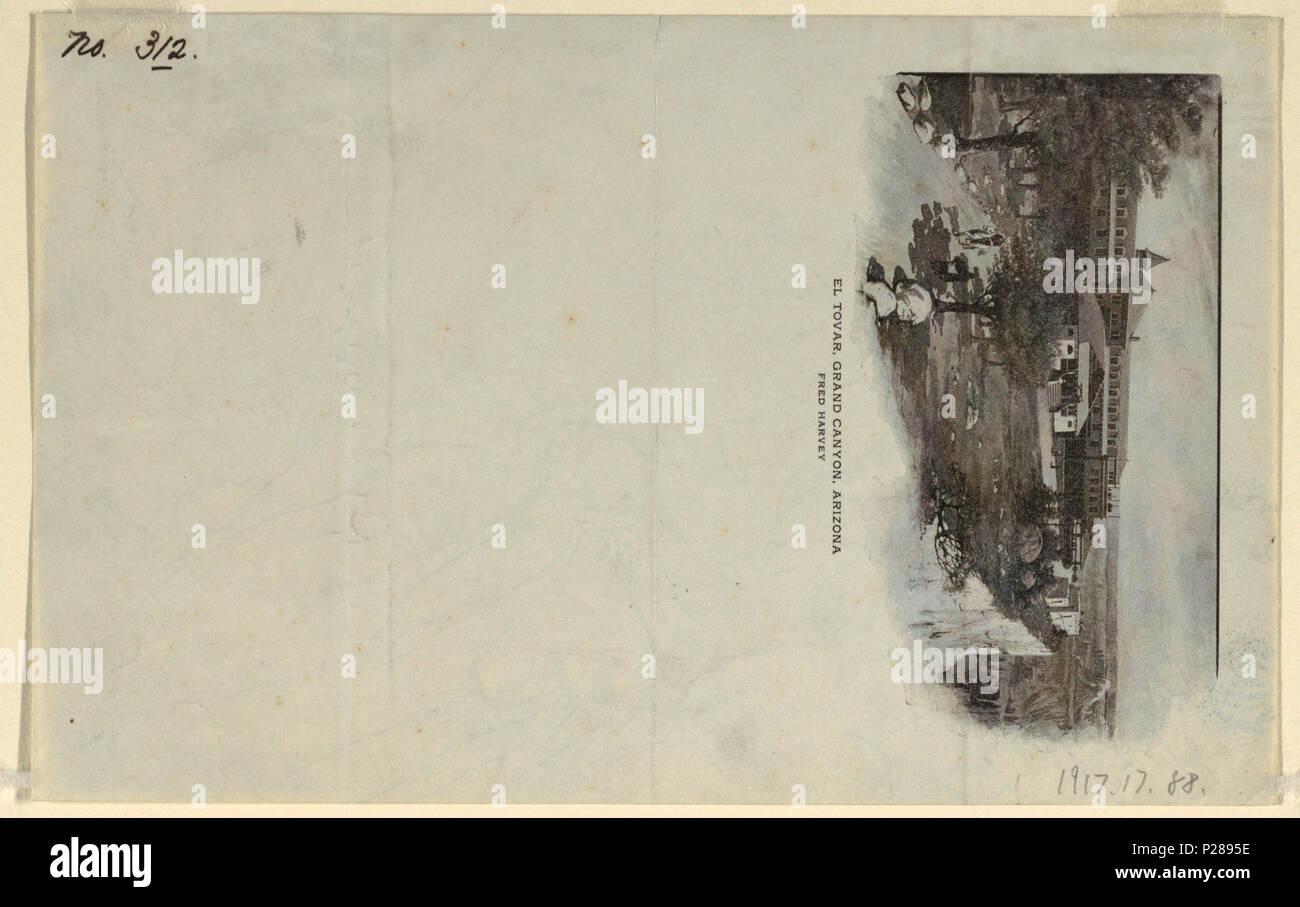 Inglese Disegno Il Grand Canyon Sotto La Pioggia Luglio 12 1908