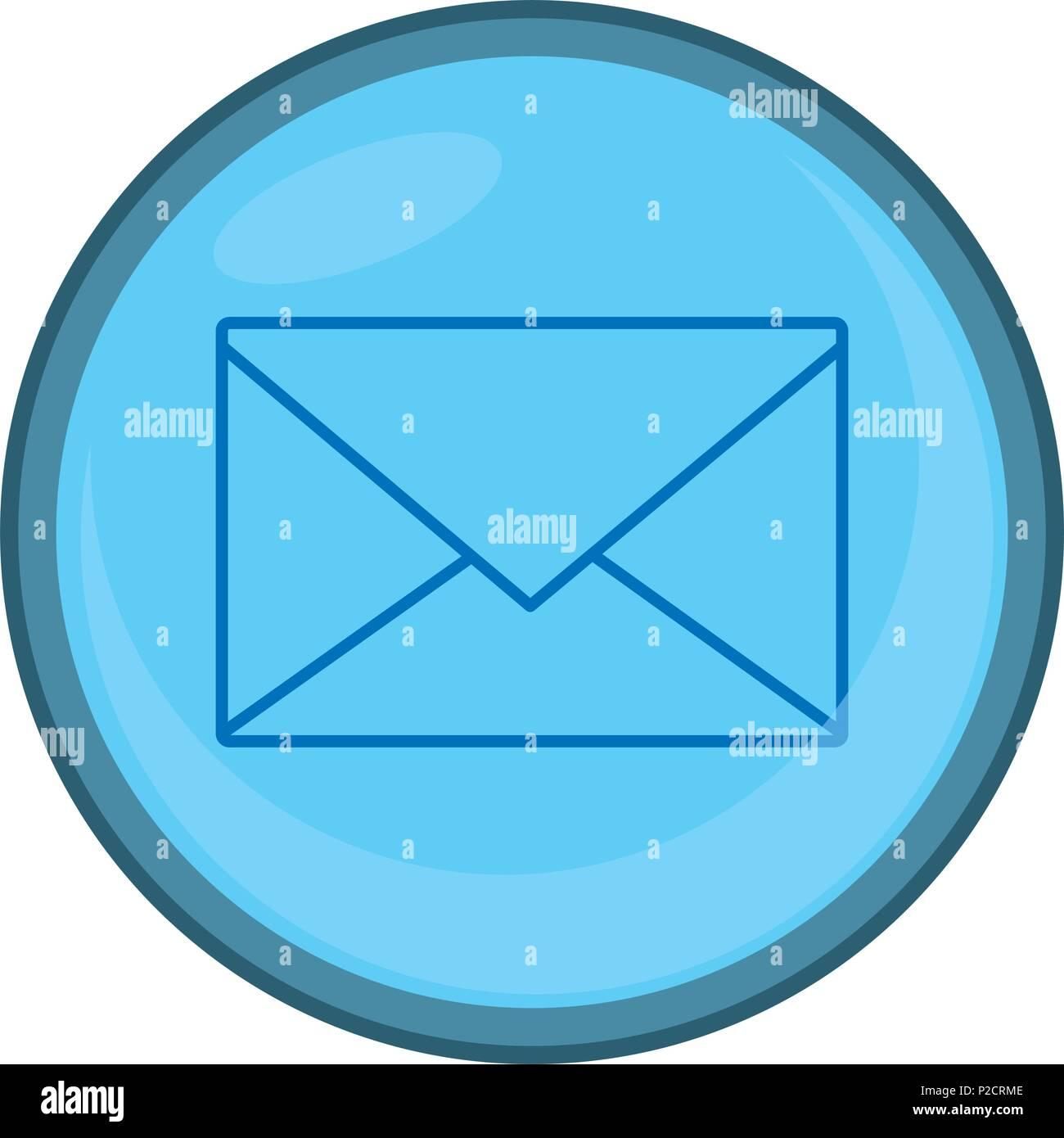 E-mail letter testo messaggio emblema Immagini Stock