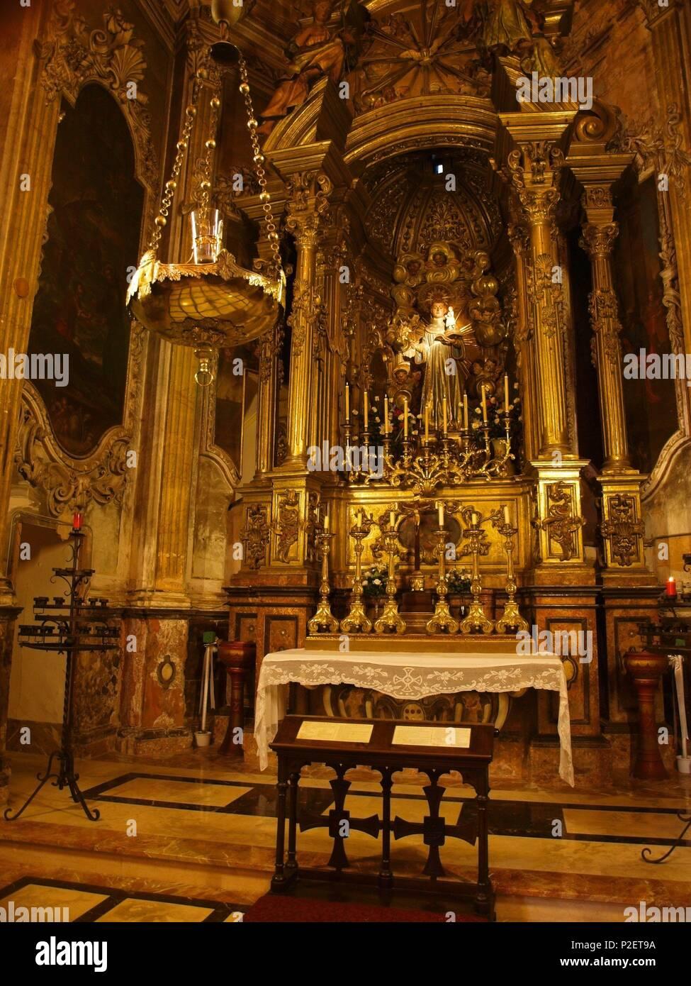 Capilla de San Antonio de Padova. La Iglesia de Sant ...