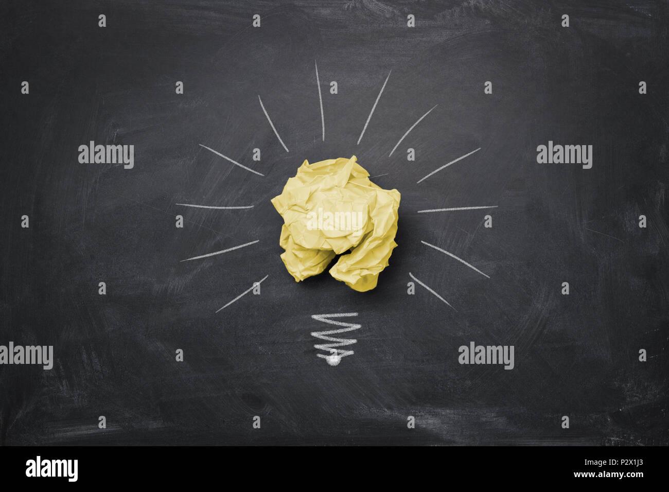Grande idea concept Immagini Stock