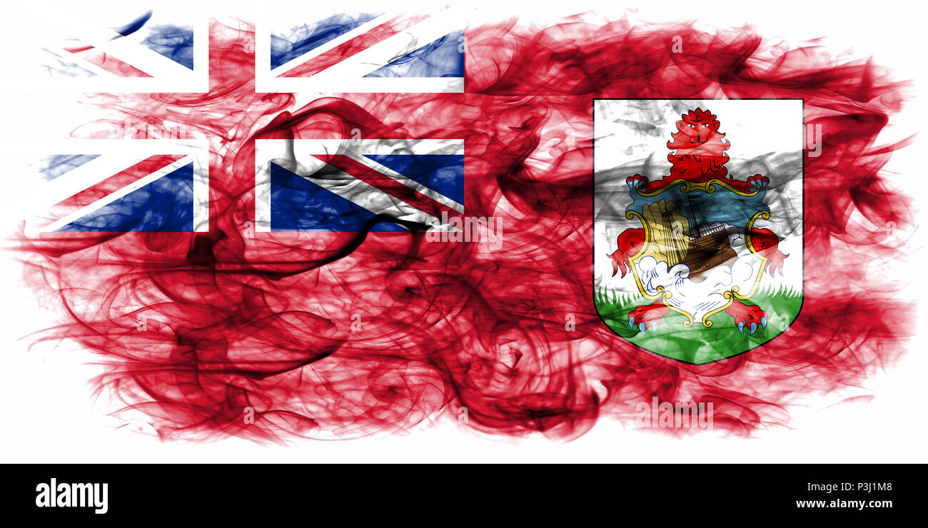 Bermuda Di Britannici FumoI Bandiera D'oltremareGran Territori LAR3j54