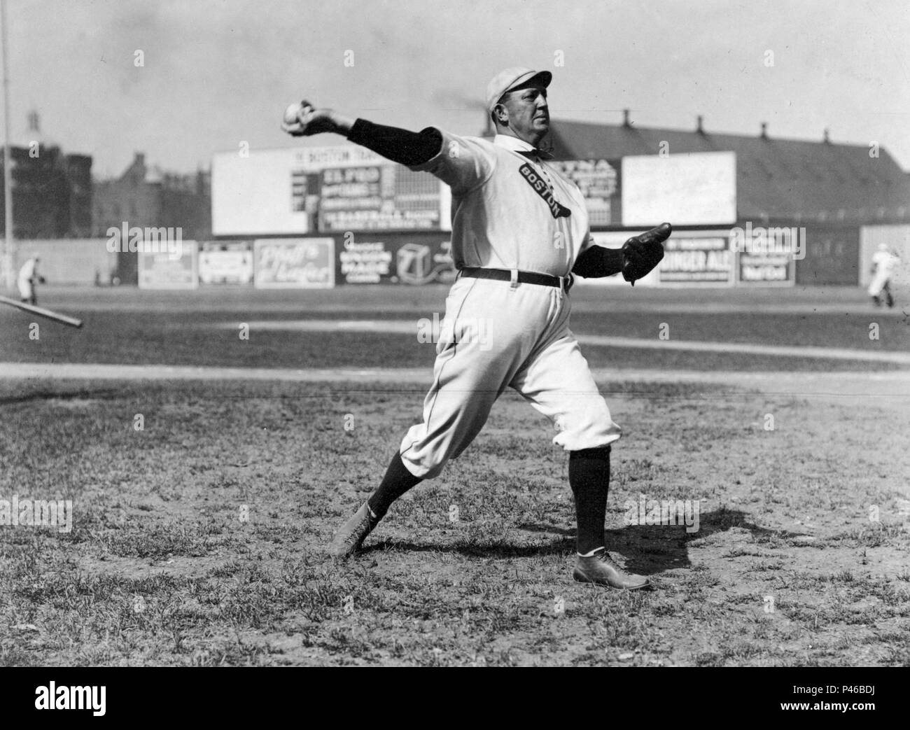 "Denton vero ""Cy"" Giovani (1867 - 1955) American Major League Baseball pitcher Immagini Stock"