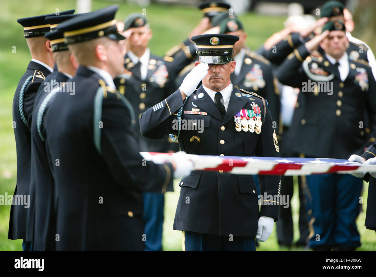Membri del 3d U.S. Reggimento di Fanteria (la vecchia guardia) e U.S.  Esercito forze 9dd80c62c7b6