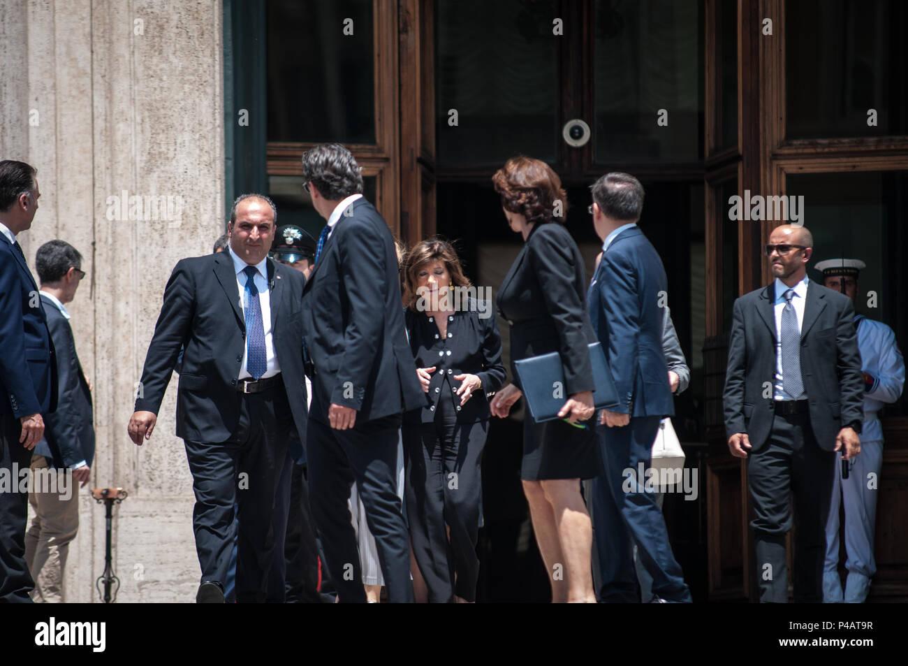 Roma italia xx giugno 2018 il presidente del senato for Senato della repubblica indirizzo