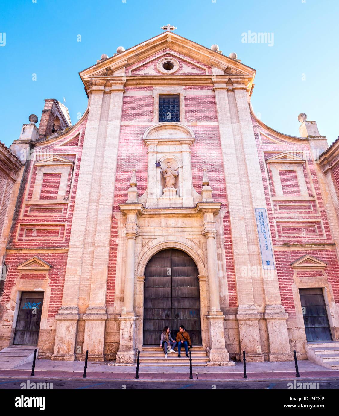Colegio Convento de San José. Alcalá de Henares. Madrid. España Immagini Stock