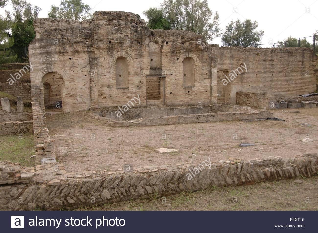 Arte greche il leonidaion luogo di alloggio per gli atleti che