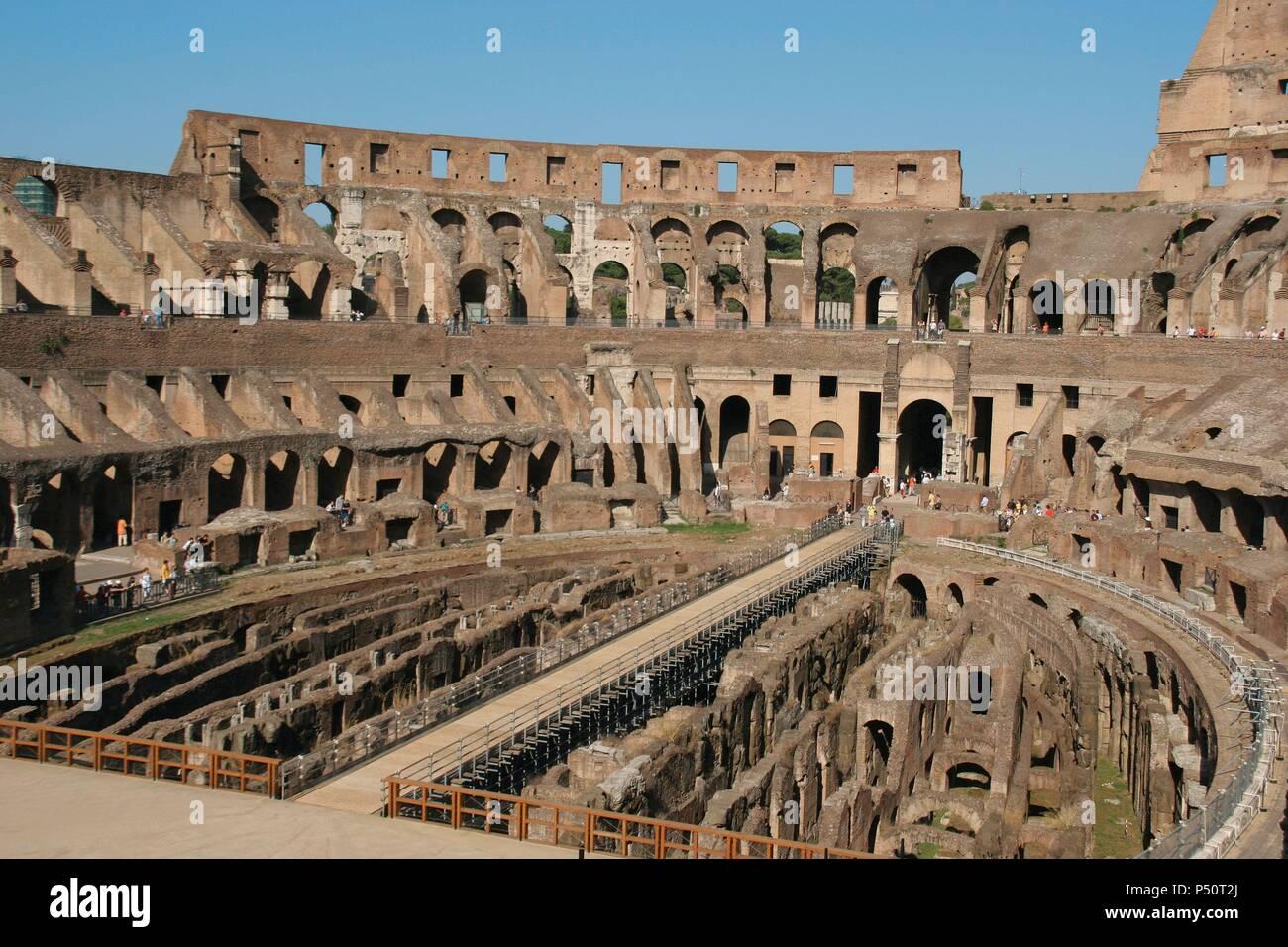 Arte romana il colosseo colosseo o anfiteatro flaviano for Il tuo account e stato attaccato