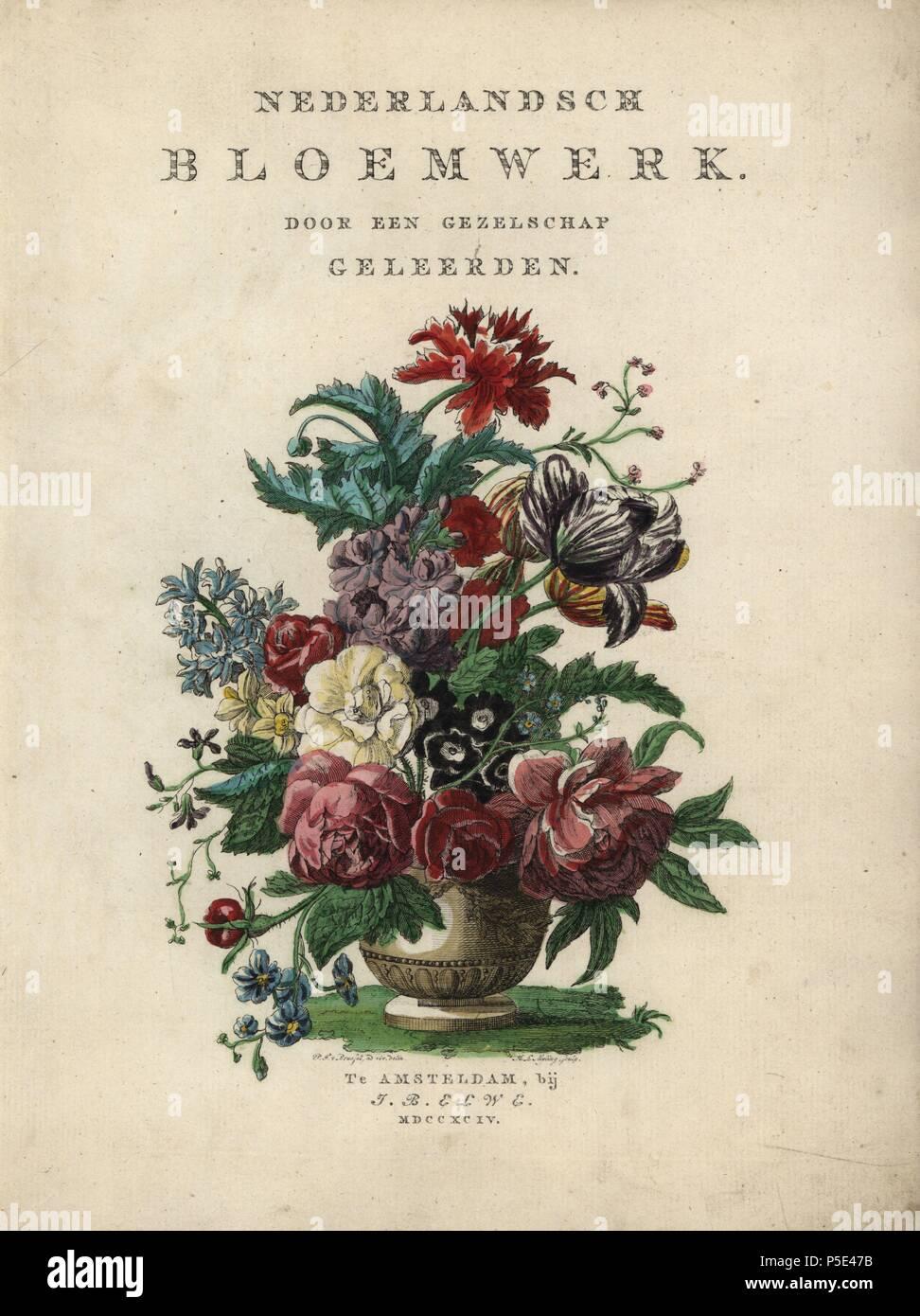 3017504210a9 Titolo bouquet di fiori tra cui le rose